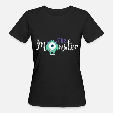 Eltern-kind Eltern - Kind - Partnerlook - Monster Kind - Frauen Bio-T-Shirt