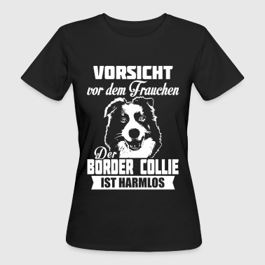 Border Collie Cartoon Border Collie - Women's Organic T-Shirt