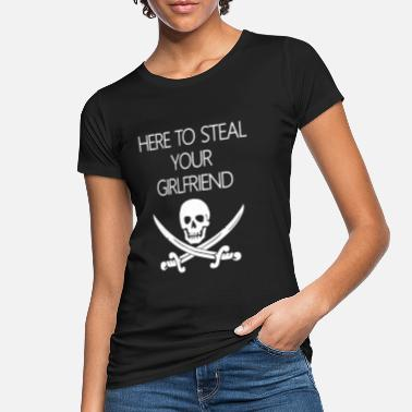 GIRLFRIEND PIRATE FASCHING CARNAVAL COSTUME - Økologisk T-shirt dame