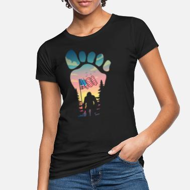 Bigfoot Bigfoot für ein Bigfoot Liebhaber - Frauen Bio T-Shirt