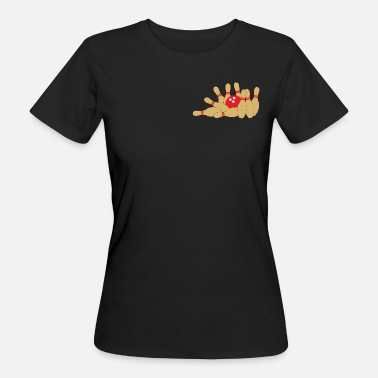 Kegel-club Goldene Kegel - Frauen Bio-T-Shirt