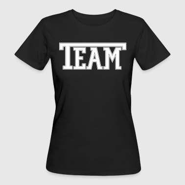 Team Font - Women's Organic T-shirt