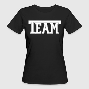 Custom Font Team Font - Women's Organic T-Shirt