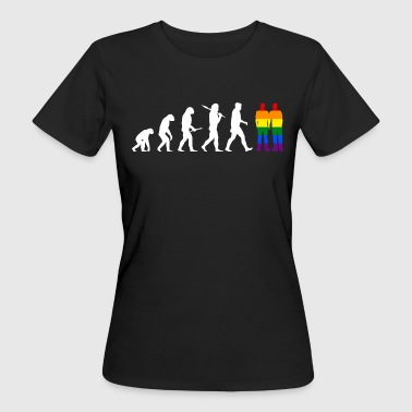 Gay Evolution Men - EN - Camiseta ecológica mujer