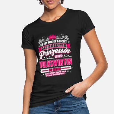 Economist Princess and economist - Women's Organic T-Shirt