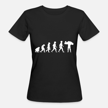 Catcher Lottatore di wrestler di catcher di Evolution Catcher - T-shirt ecologica da donna