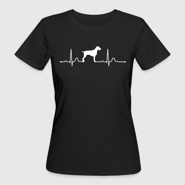 ENGLISH DRAHTHAAR - GERMAN WIREHAIRED POINTER - Women's Organic T-Shirt