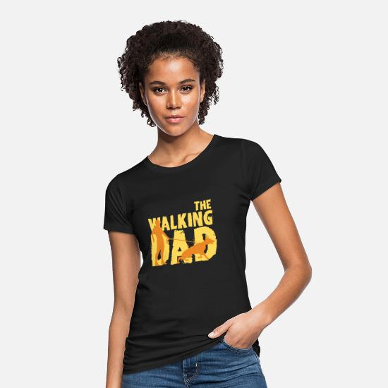 Birthday T-Shirts - Father Dog Relationship Gift Purebred Dog - Women's Organic T-Shirt black