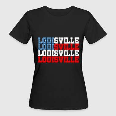 USA LOUISVILLE SHIRT - Organic damer