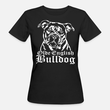 Olde English Bulldog Olde English Bulldog - Frauen Bio-T-Shirt