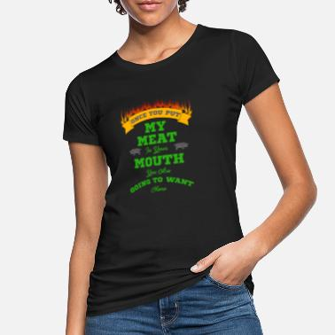 Grilled Meat grilled meat - Women's Organic T-Shirt