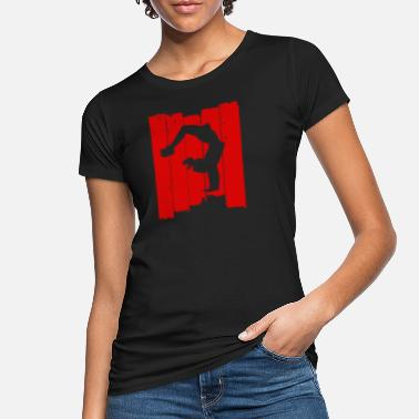 Breakdance Breakdance handstand parkour turnen - Frauen Bio T-Shirt