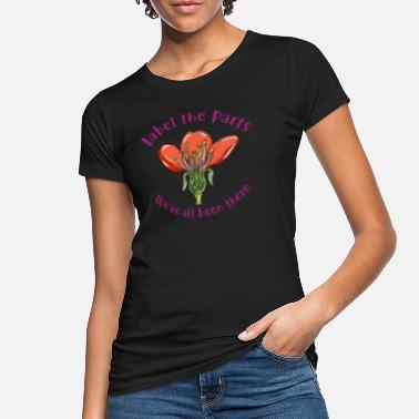 Pollinate Science Biology Pollination - Women's Organic T-Shirt