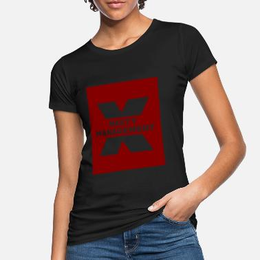Maroon nasty management maroon - Women's Organic T-Shirt