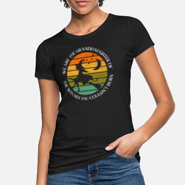 Burning We Are The Granddaughters Of The Witches Feminism - Women's Organic T-Shirt