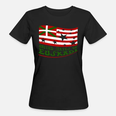 Drapeau Basque United States of Euskadi 2 - T-shirt bio Femme