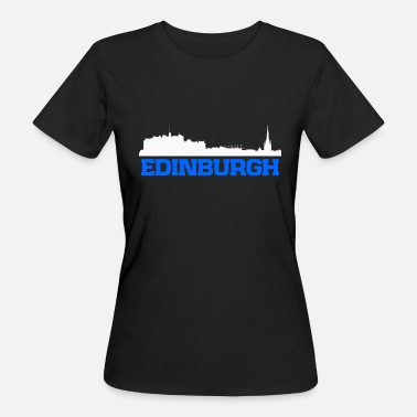 Andrews Edinburgh Scotland skyline tee - Women's Organic T-Shirt