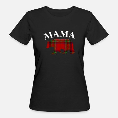Mama Familie Familie Mama Beer - Vrouwen Bio-T-shirt