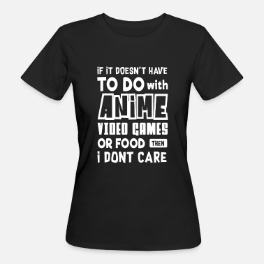 Big Point To do with Anime video Games or Food - video games - Ekologisk T-shirt dam