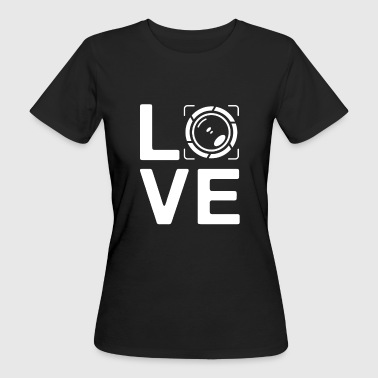 LOVE - photography paparazzi photo editor - Frauen Bio-T-Shirt