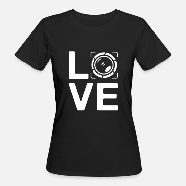 Editor LOVE - photography paparazzi photo editor - Camiseta ecológica mujer