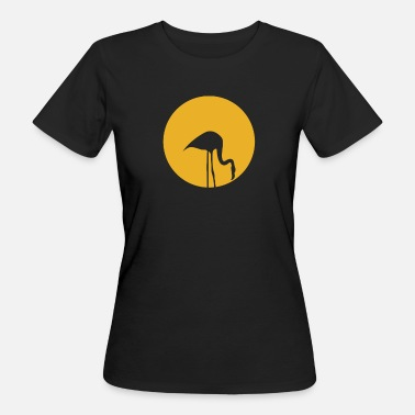 Flamingo Vogel Flamingo Vogel - Frauen Bio-T-Shirt