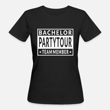 Parental-advisory Bachelor Partytour - Women's Organic T-Shirt
