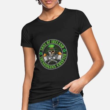 Lucky 13 Sons of Ireland Shenanigans Chapter - Frauen Bio T-Shirt