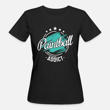Paintball Drôle Drôle Cool Paintballer Paintballer cadeau Tee - T-shirt bio Femme
