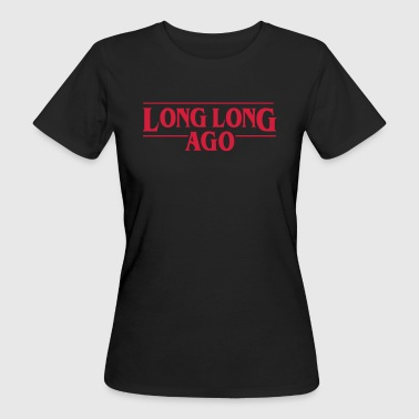 LONG LONG AGO Vector - Women's Organic T-Shirt
