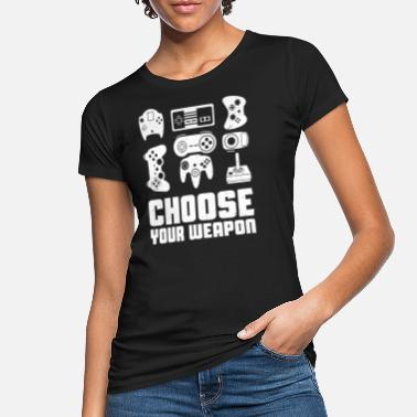 Joystick Gaming Joystick - Frauen Bio T-Shirt