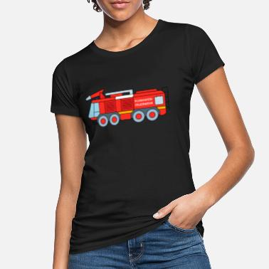 Firefighting Airport fire department fire engine - Women's Organic T-Shirt