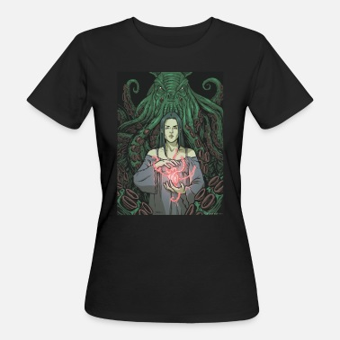 Collections Lovecraft - 01 - T-shirt ecologica da donna