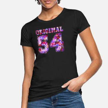 1954 54 1954 Original 54 - Birthday Present Bday - Frauen Bio T-Shirt