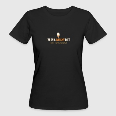 Whisky diet - Women's Organic T-Shirt