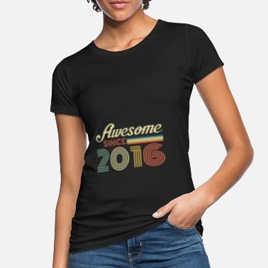 Limited Vintage 2016 birthday retro vintage gift - Women's Organic T-Shirt