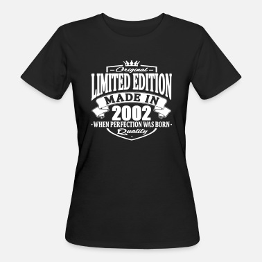 2002 Limited edition made in 2002 - Women's Organic T-Shirt