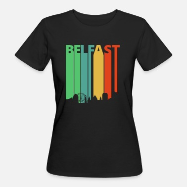 Belfast Vintage Retro Belfast. Northern Ireland. Explore - Women's Organic T-Shirt