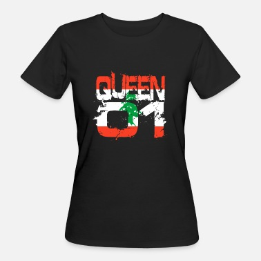 Libanon Gift Queen 01 Country Partner Libanon - Vrouwen Bio-T-shirt