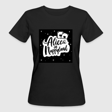 Alice in Nappyland 1 - Frauen Bio-T-Shirt