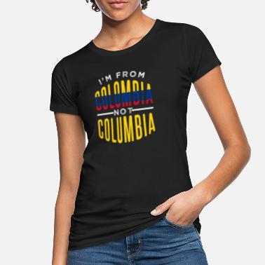 Colombia Colombia - Camiseta orgánica mujer