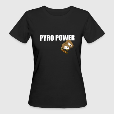 Pyro Power Shell - Women's Organic T-Shirt
