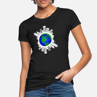 Fridays For Future Gem verdens jordklimaændringer Futur Friday - Økologisk T-shirt dame