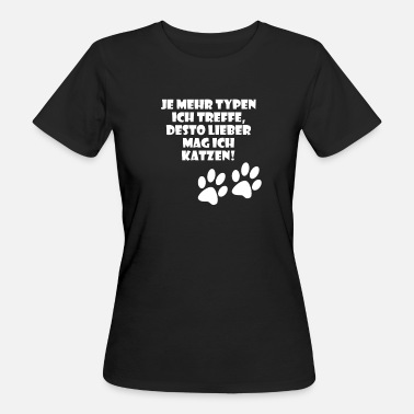 Dating Dating Cats Design unique - T-shirt bio Femme