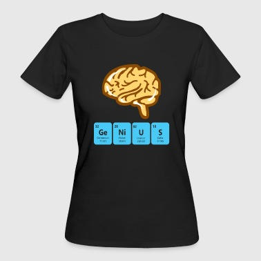 Genius periodic table - Women's Organic T-Shirt