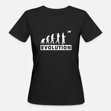 Planes RC Airplane Evolution Remote Control Gift - Women's Organic T-Shirt