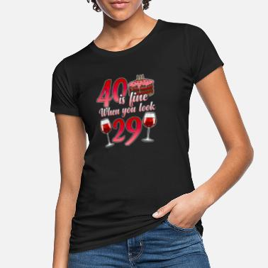 40th Birthday 40th Birthday funny gift for the 40th Birthday - Women's Organic T-Shirt