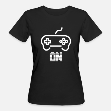 Minimalist Games Game On Controller - Women's Organic T-Shirt