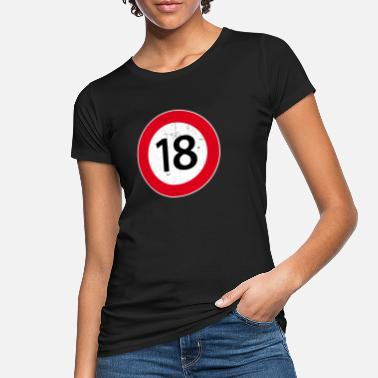 Legal Age 18 birthday gift of a legal age - Women's Organic T-Shirt