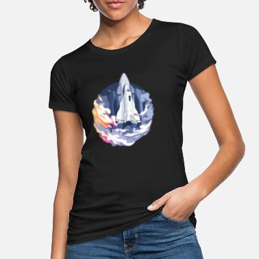 Sci-fi Spaceshuttle Raumschiff Sci-Fi NASA - Frauen Bio T-Shirt